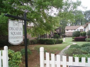 Decatur Square Condos-Living Near Glenlake Park